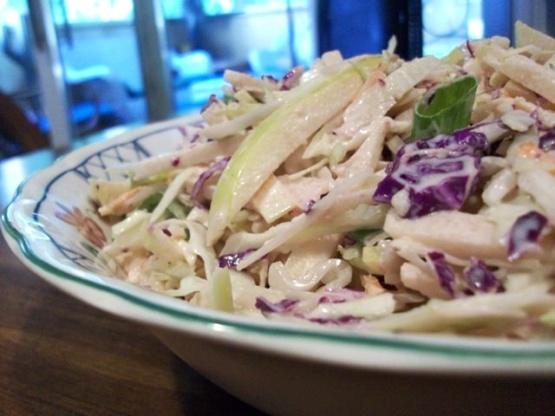 Asian apple slaw recipe healthynius kitchen like forumfinder Gallery