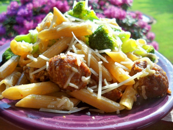 Sweet italian sausage with penne pasta recipe genius kitchen forumfinder Images