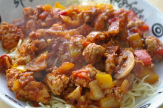 Ww spicy ground chicken recipe genius kitchen like forumfinder Gallery