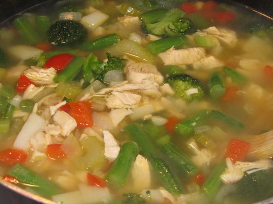 Genius Kitchen Turkey Soup