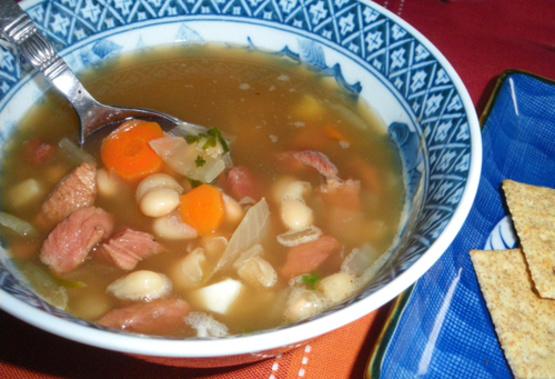 Food Network Kitchen Navy Bean Soup