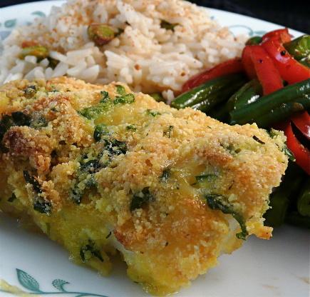 Garlic Crusted Cod Fish Recipe Genius Kitchen