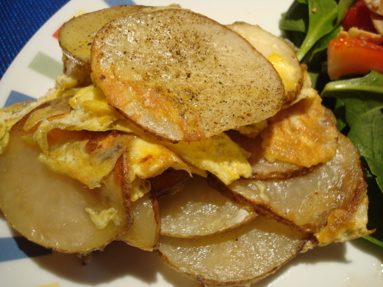 Spanish Omelet Recipe Breakfast Genius Kitchen