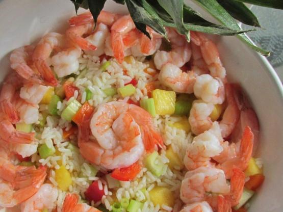 Caribbean Salads Ready To Go: Caribbean Shrimp Salad Recipe