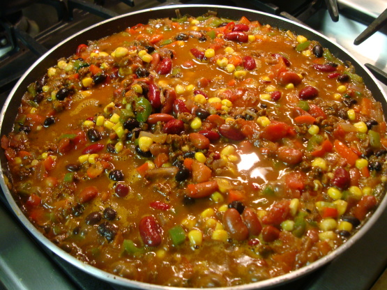 Vegetarian chili recipe mexicannius kitchen photo by cpa chef forumfinder Choice Image