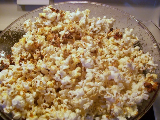 Stir Crazy Kettle Corn Recipe Genius Kitchen
