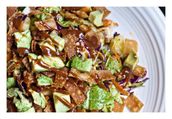 Thai Peanut Dressing From Cpks Thai Crunch Salad Recipe - Genius ...