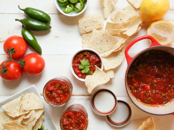 Fresh Homemade Salsa For Canning Recipe - Genius Kitchen