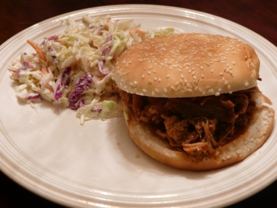 how to cook a pulled pork in crock pot