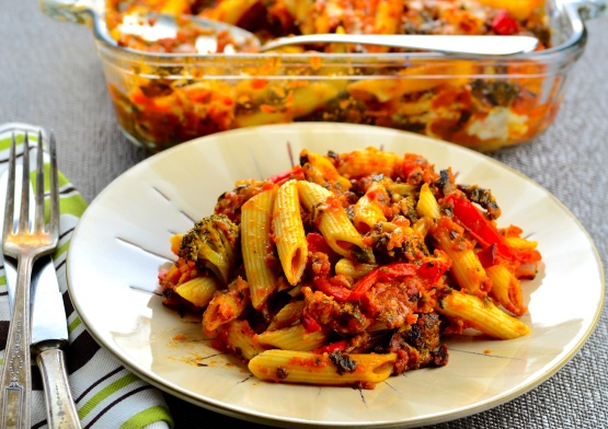 Tuscan Vegetarian Pasta Recipe