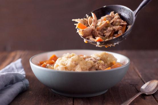 Instant Pot Chicken And Dumplings Pressure Cooker Recipe Genius