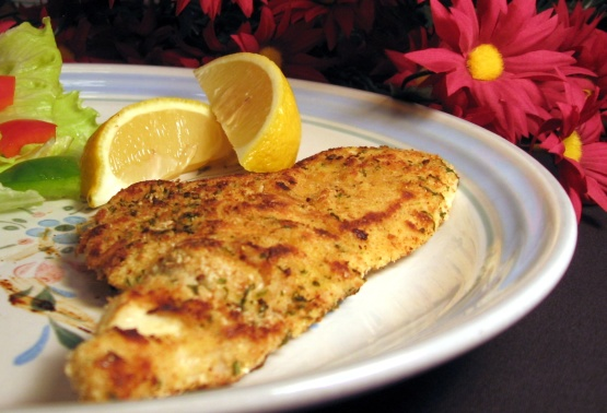 Pan Fried Chicken Schnitzel Style Recipe Genius Kitchen