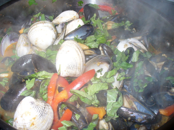 how to make mussels in sauce