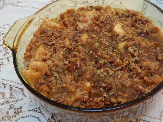 Apple Crisp with Oat Topping Recipe - m 73