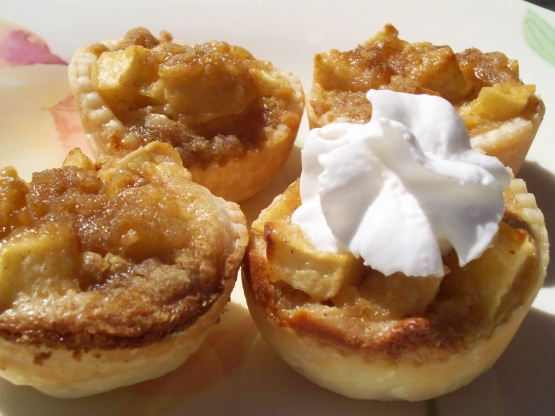apple mini tarts recipe - genius kitchen