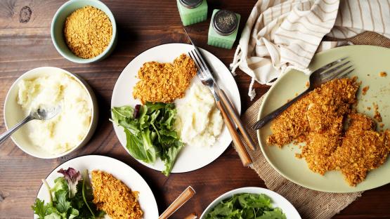 Unfried Chicken Ww Recipe Genius Kitchen