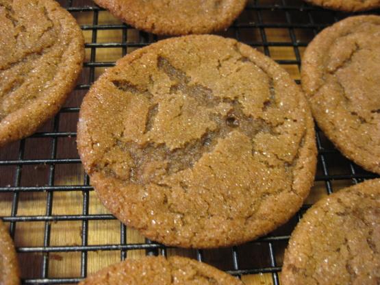 Chewy Molasses Cookies Recipe Genius Kitchen