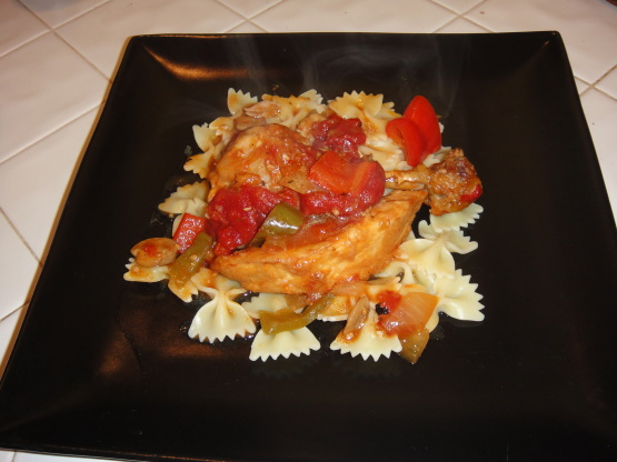 Chicken Cacciatore Recipe Genius Kitchen