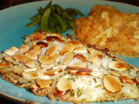 Baked Trout Amandine Recipe Genius Kitchen