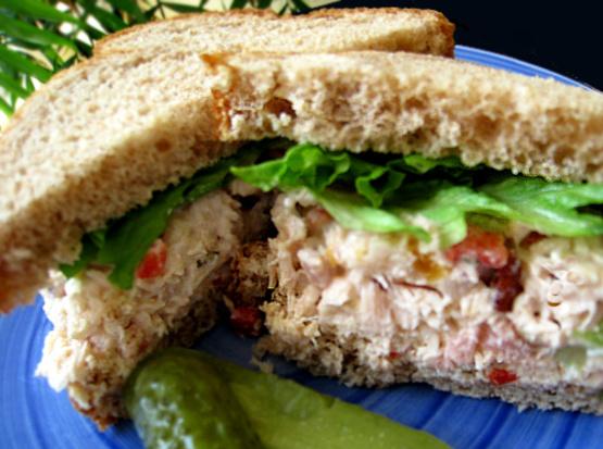 Tinks chicken and tuna salad sandwiches recipe genius for Best tuna fish sandwich