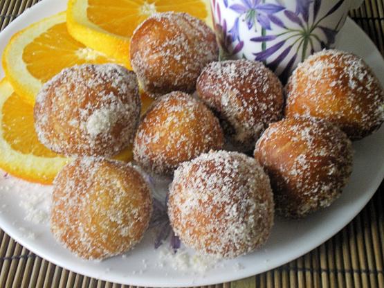 Chinese orange donut holes recipe genius kitchen like forumfinder Choice Image