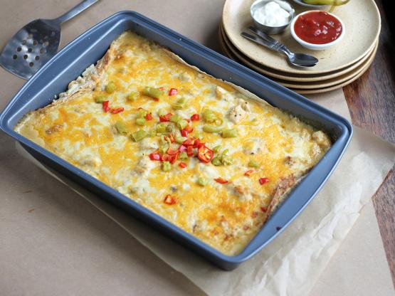 Chicken enchilada casserole recipe genius kitchen like forumfinder Image collections