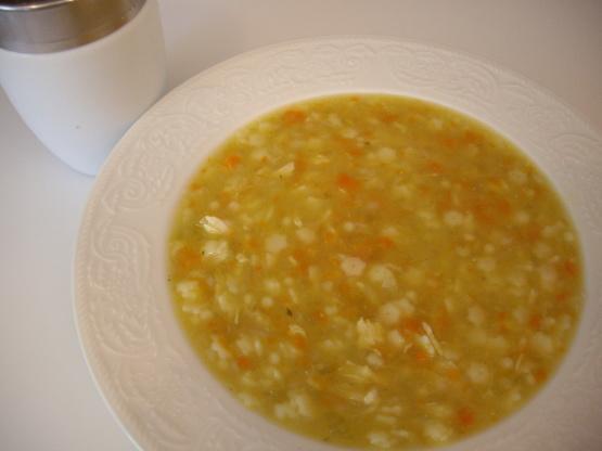 Pastina Chicken Soup Recipe Genius Kitchen