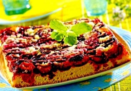 Polish fresh plum cake placek z sliwkami recipe genius kitchen photo by theswedishchef forumfinder Image collections