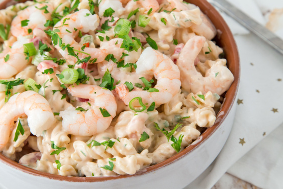 Shrimp Louis Pasta Salad Recipe Food Com