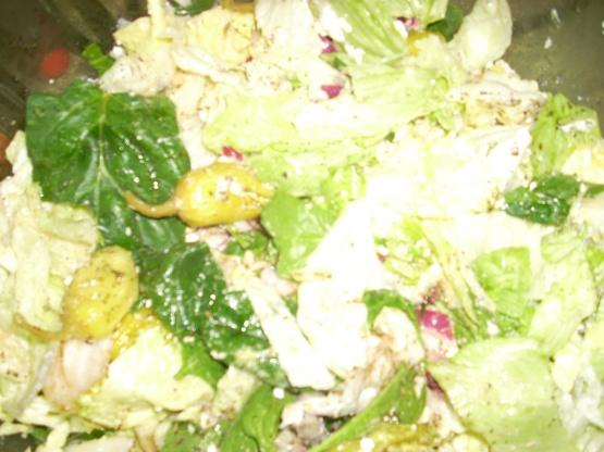 Copy Cat Greek Salad From The Corner Greek Deli Recipe