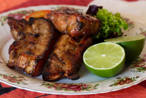 Ginger, Garlic, And Honey Grilled Baby Back Ribs Recipe