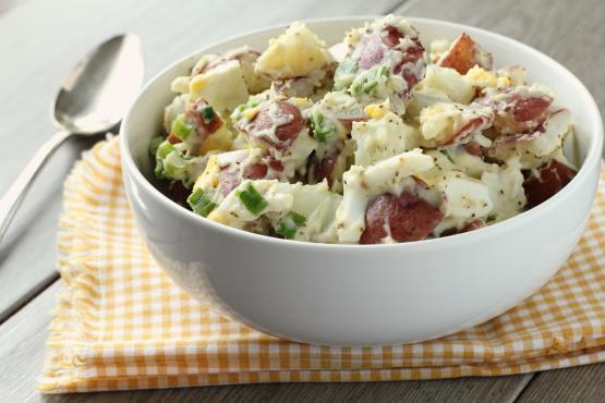 Image result for red skinned potato salad