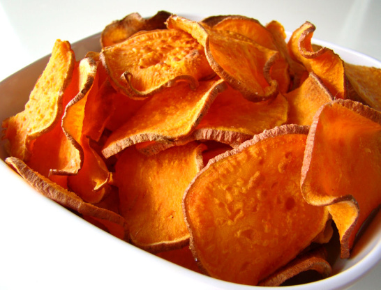 how to cook potatoes chips in the oven 425