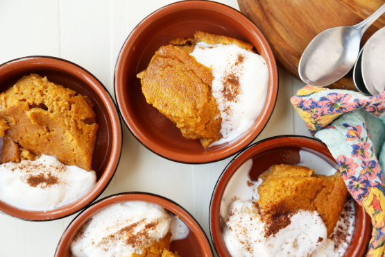 recipe: pumpkin pie pudding [37]