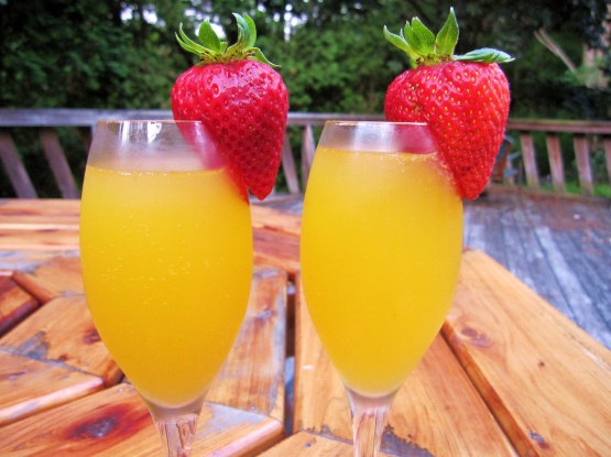 Passion Fruit Mimosa Recipe