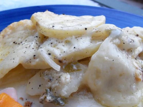 Gruyere Scalloped Potatoes Recipe