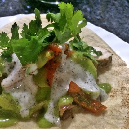 Bobby flays chicken fajitas recipe genius kitchen like forumfinder Image collections