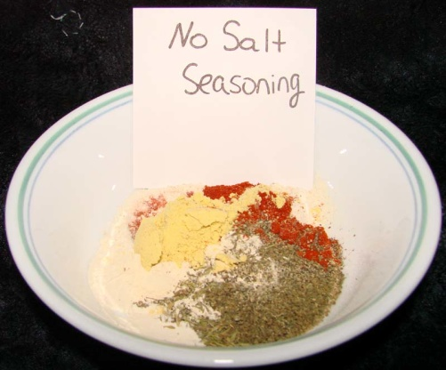 No salt seasoning recipe genius kitchen join the conversation forumfinder Gallery