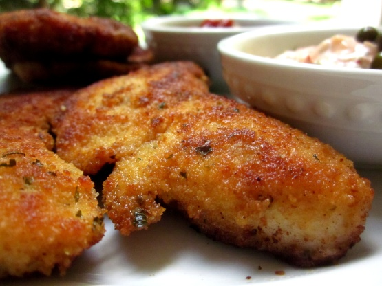 Breaded Breast Of Chicken Chicken Cutlets