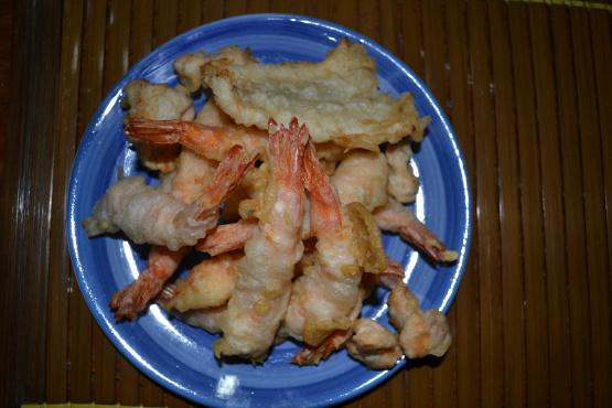 how to use ready made tempura flour