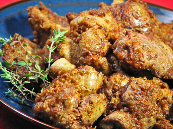 Southern Sauteed Chicken Livers Recipe Genius Kitchen