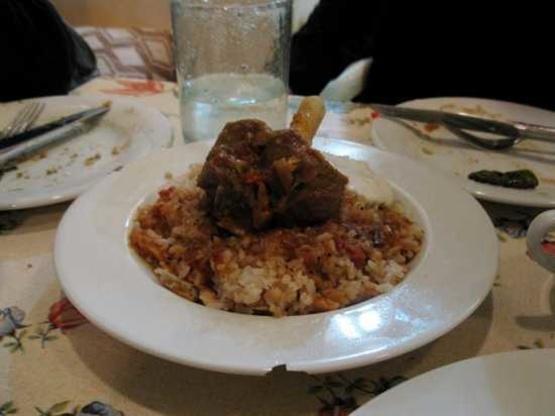 Fatta Egyptian Meat Soup Recipe Genius Kitchen