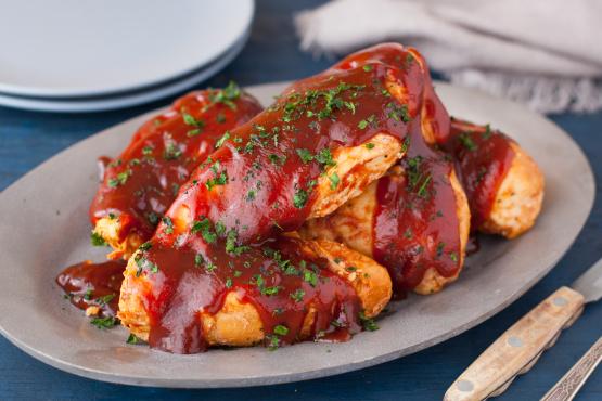Sweet Baby Rays Crock Pot Barbecue Chicken Recipe Genius