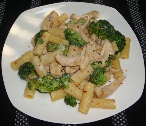 Chicken Or Not W Broccoli And Ziti Recipe Genius Kitchen