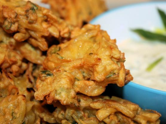 Onion bhaji indian onion fritters recipe genius kitchen like forumfinder Gallery