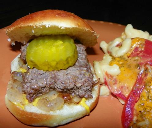 Austin Russell White Castle Burgers Sliders Recipe