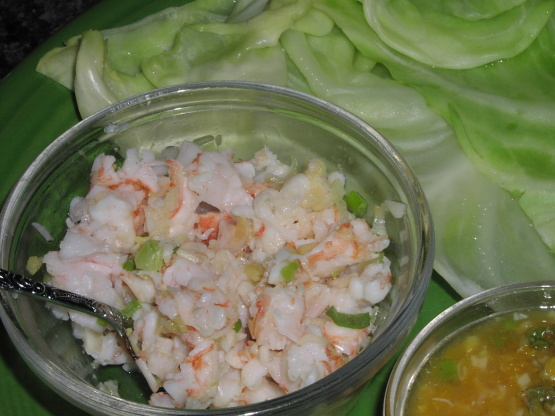 Easy Ginger Shrimp Wraps Hcg Phase 2 Recipe Genius Kitchen