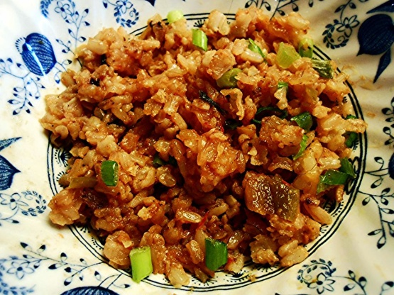 My favorite breakfast stir fried rice and cheese recipe genius photo by pammyowl ccuart Image collections
