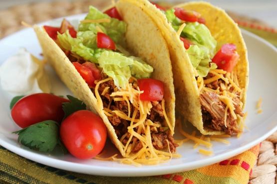 Crock pot chicken taco meat recipe genius kitchen forumfinder Image collections