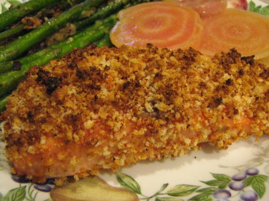 Savory Panko Crusted Salmon Recipe Genius Kitchen